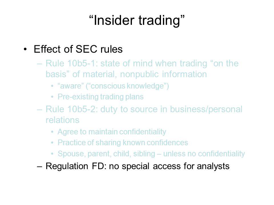 Sec options trading rules