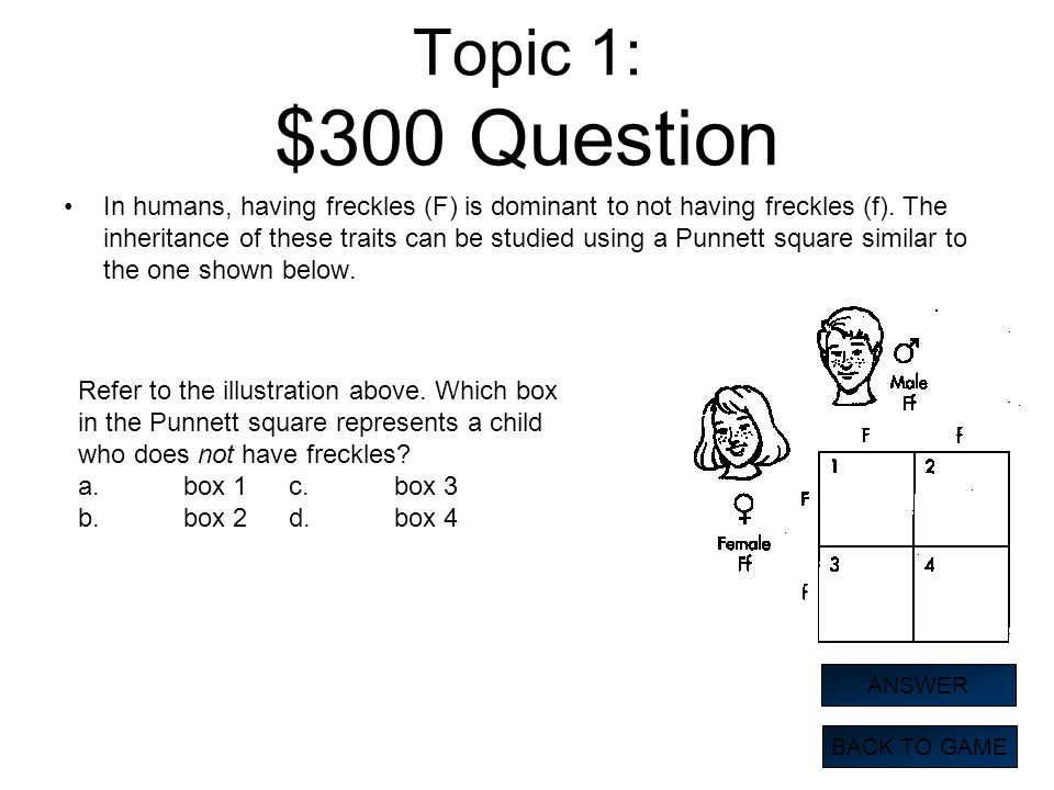 Topic 1: $300 Question