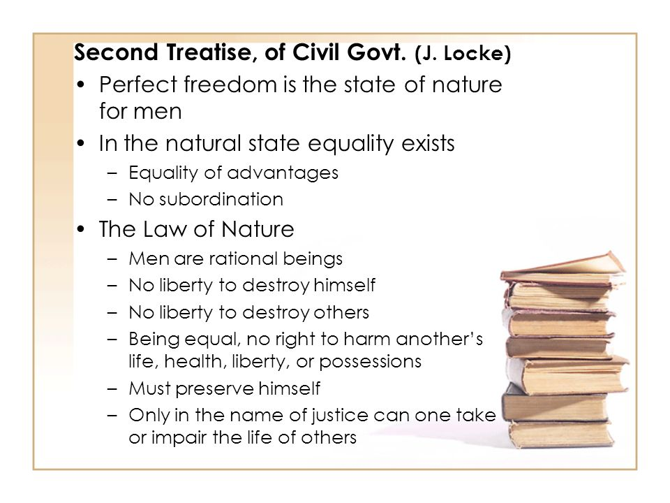 Second Treatise, of Civil Govt. (J. Locke)