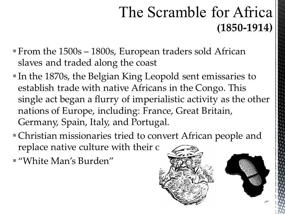 The Scramble for Africa ( )