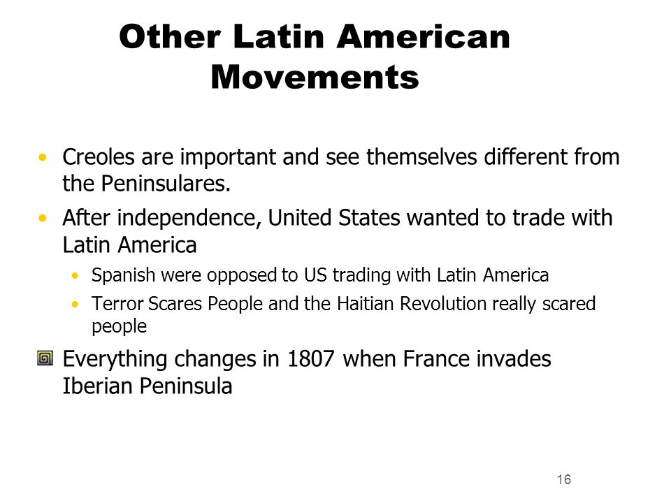 Other Latin American Movements