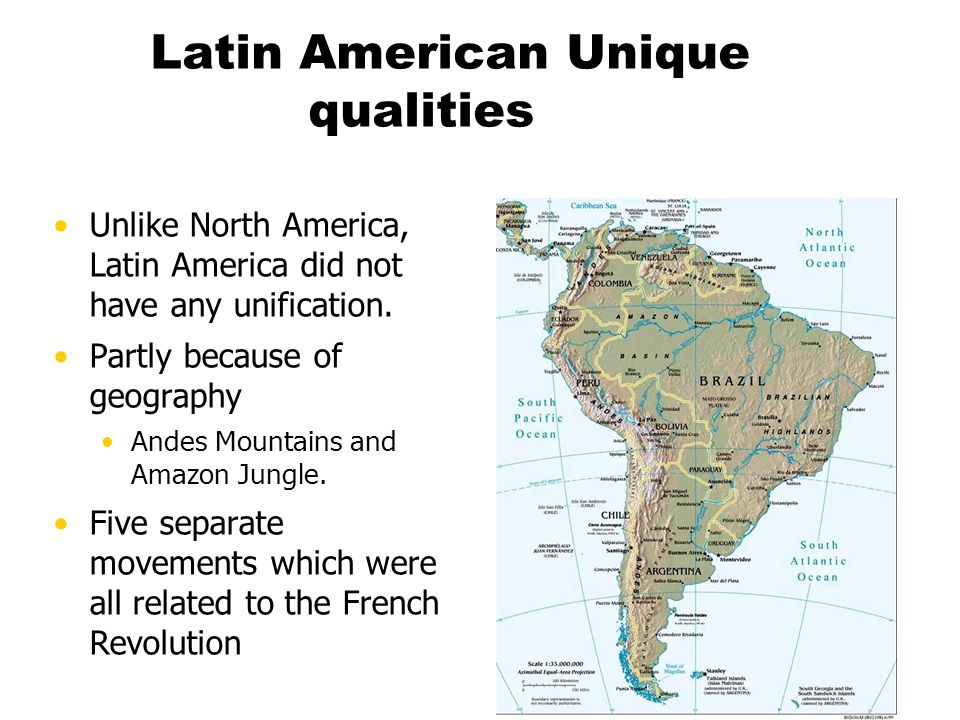 Latin American Unique qualities