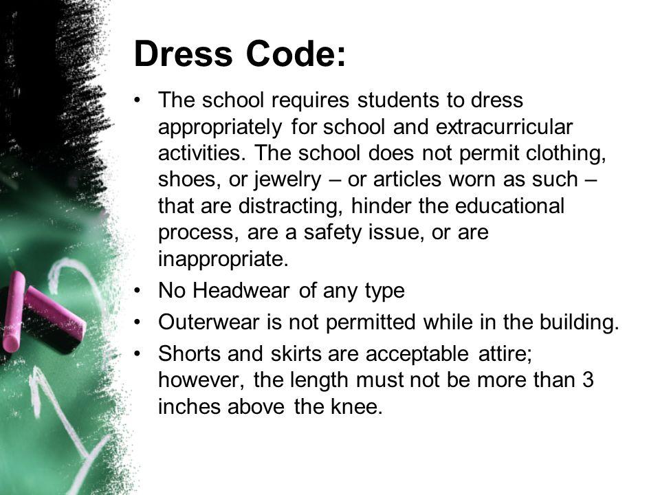 Dress Code: