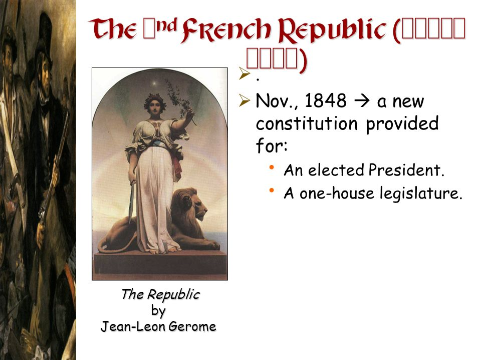 The 2nd French Republic ( )