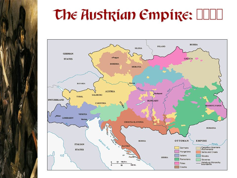 The Austrian Empire: 1830