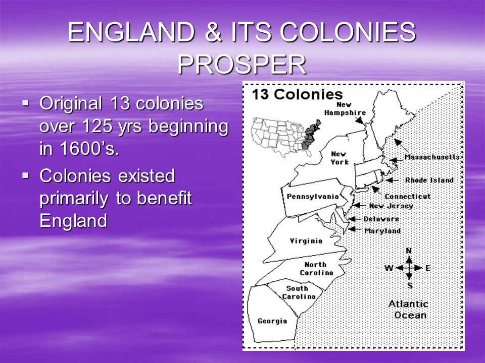 ENGLAND & ITS COLONIES PROSPER