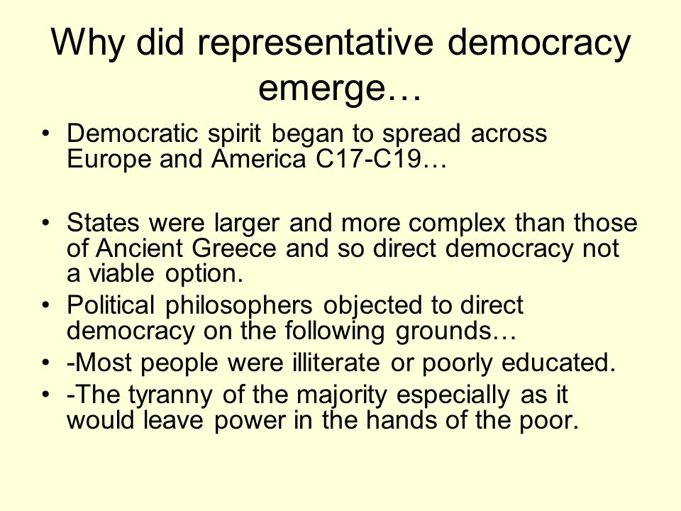 democracy is the tyranny of the majority essay Essay on democracy in america 664 words | 3 pages democracy in america by: alexis de tocqueville democracy in america, by alexis de tocqueville is a book about how the american states and the federal government would grow politically and socially under the umbrella of democracy.