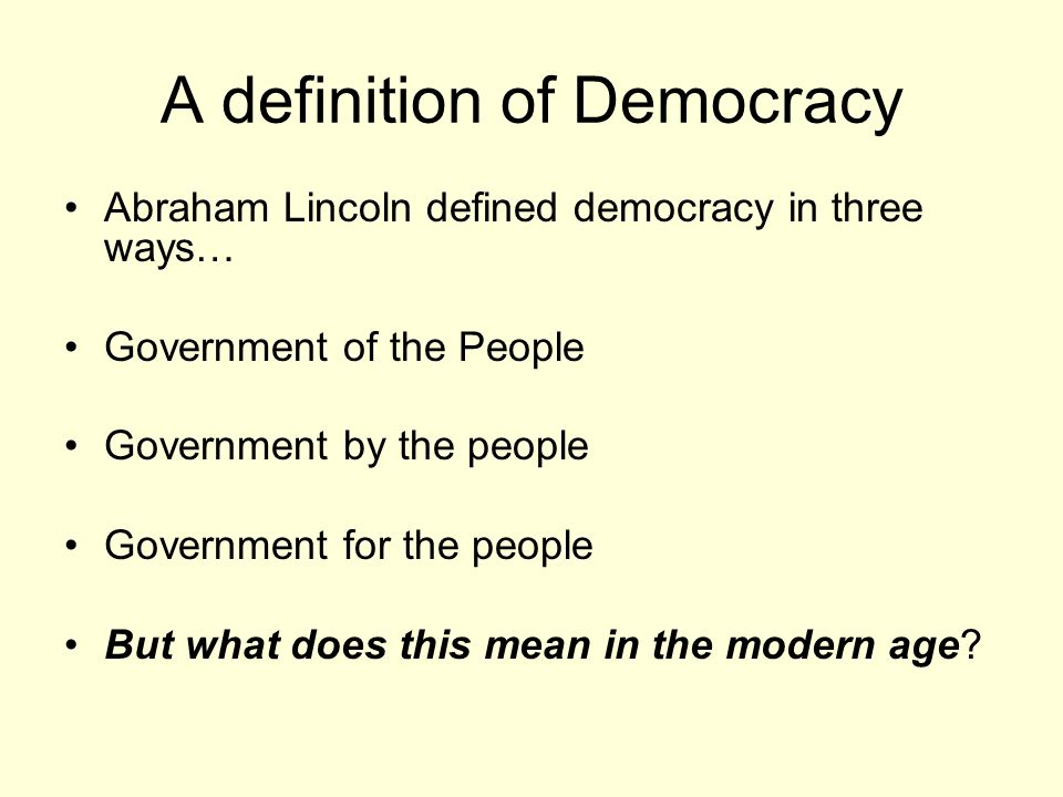 a description of a democracy as a form of government Constitutional democracy - a form of government in which the sovereign power of the people is spelled out in a governing constitution constitutional monarchy - a system of government in which a monarch is guided by a constitution whereby his/her rights, duties, and responsibilities are spelled out in written law or by custom.