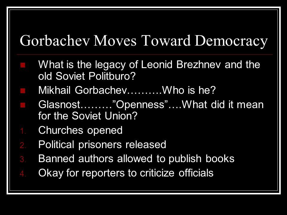 Gorbachev Moves Toward Democracy