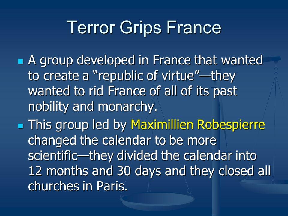 Terror Grips France