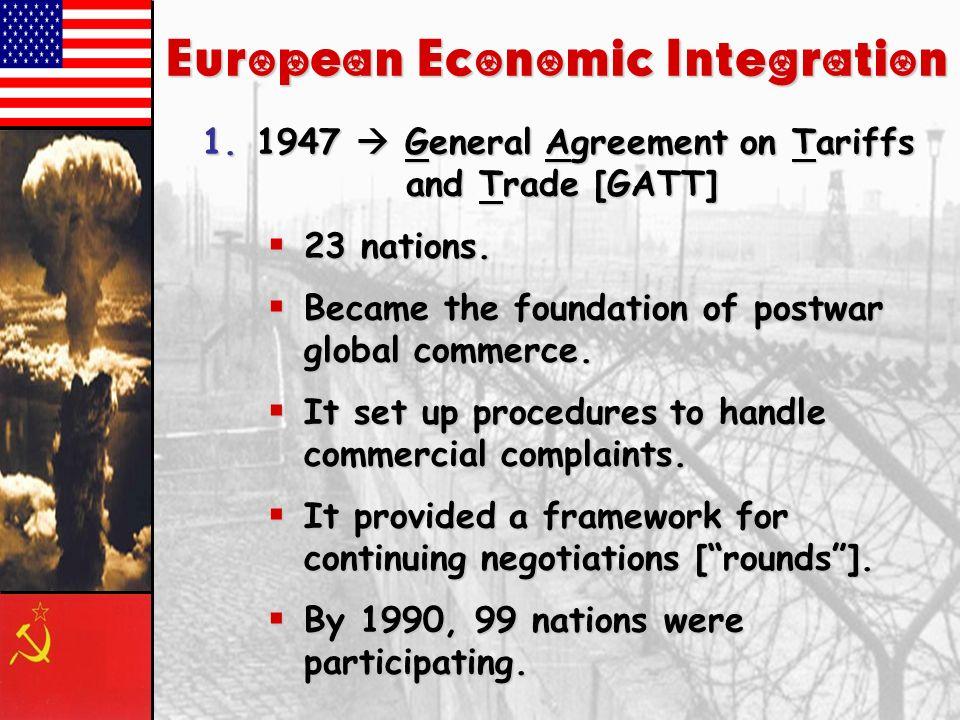 European Economic Integration