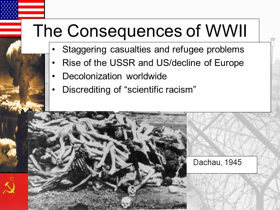 The Consequences of WWII
