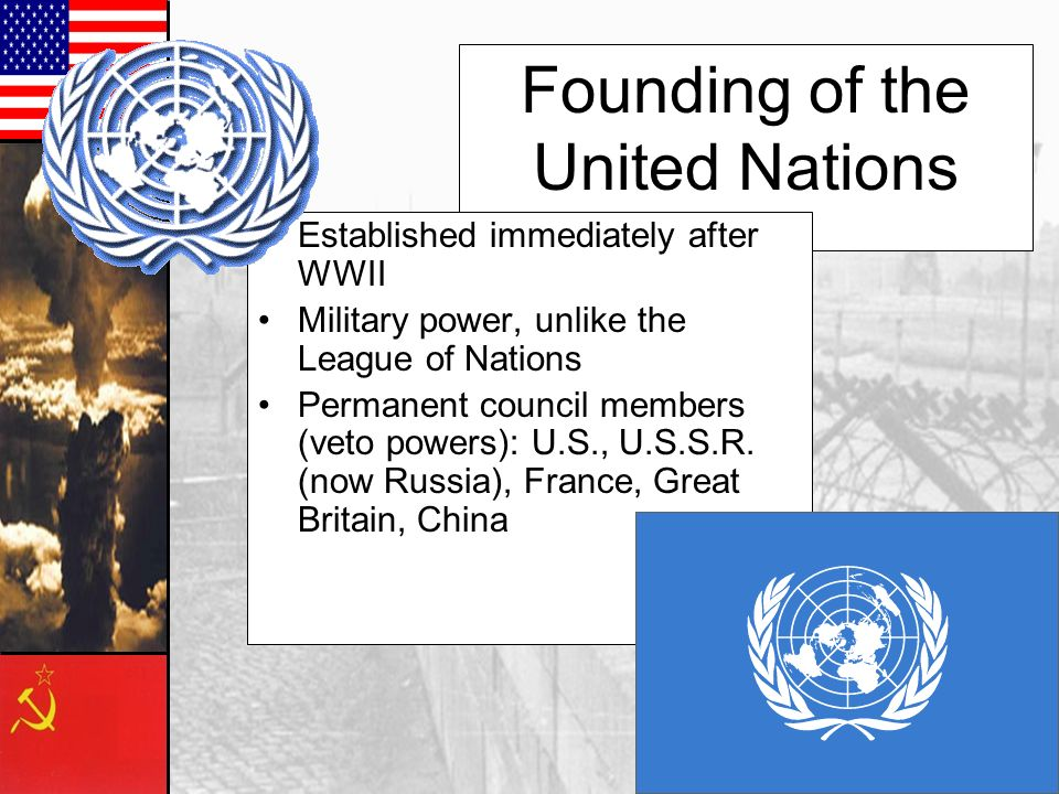 Founding of the United Nations