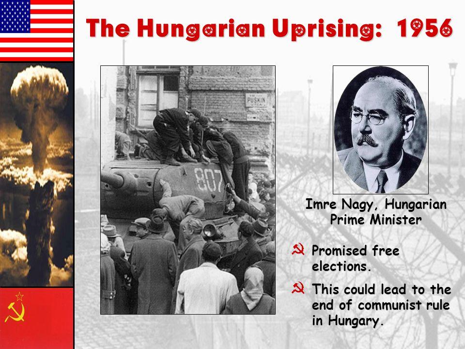 The Hungarian Uprising: 1956 Imre Nagy, Hungarian Prime Minister