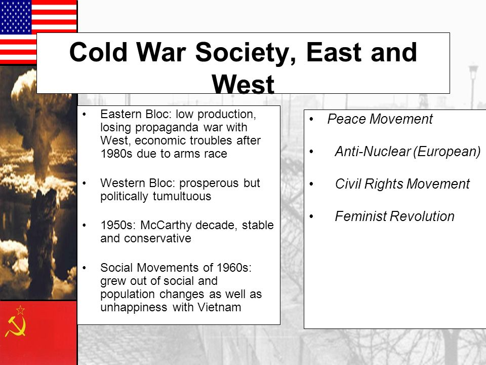 Cold War Society, East and West