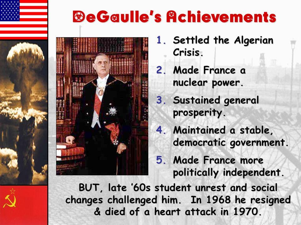 DeGaulle's Achievements