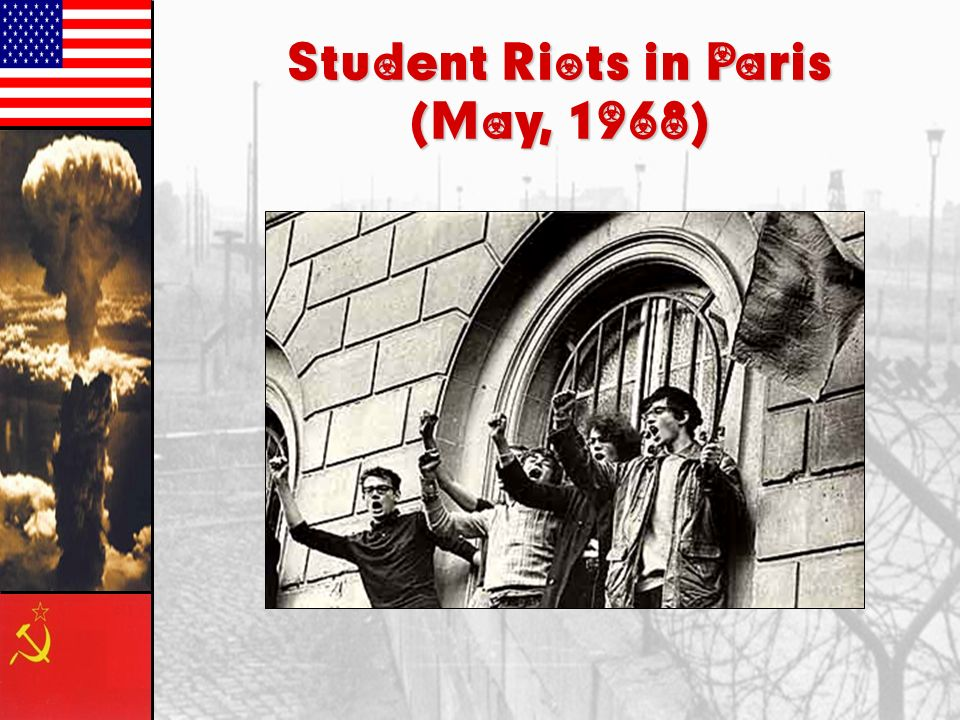 Student Riots in Paris (May, 1968)