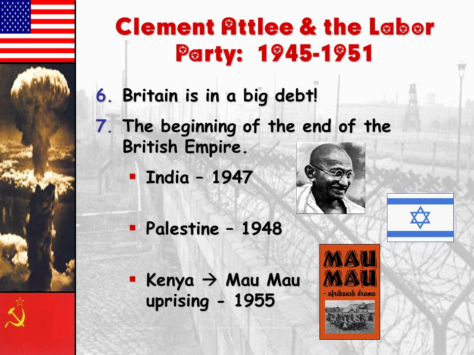 Clement Attlee & the Labor Party: