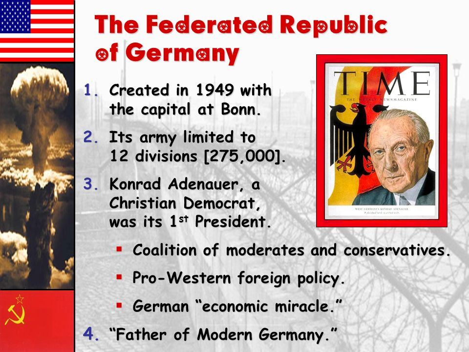 The Federated Republic of Germany