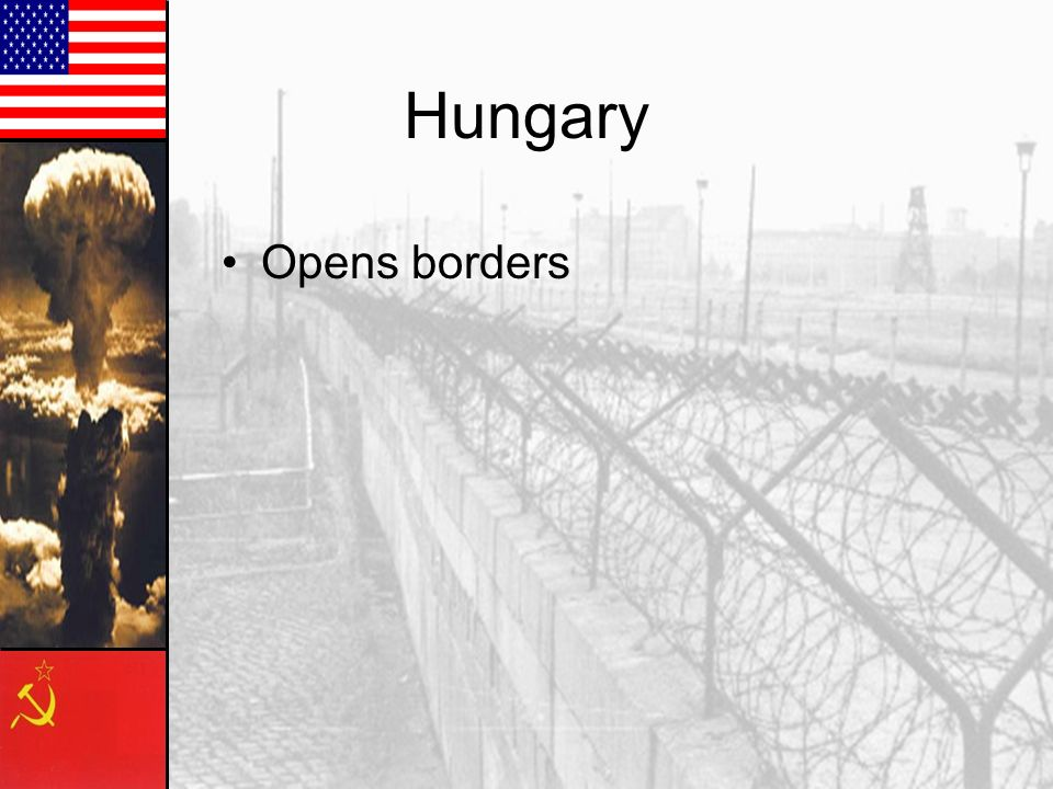 Hungary Opens borders