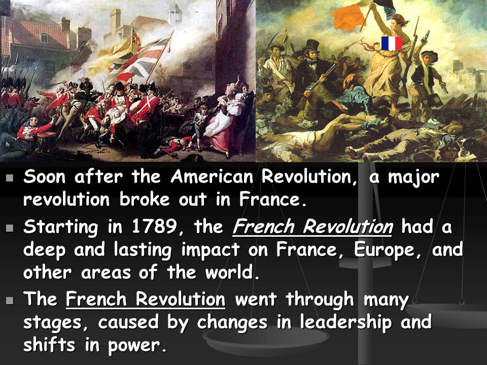 what impact did the french revolution Domino effect of revolutions during the french revolution, all french men were freed and considered equal citizens under the law - this included all slaves on the french island of haiti.