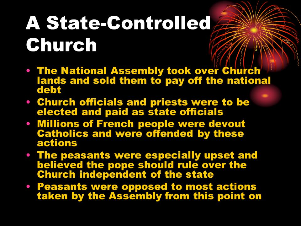A State-Controlled Church