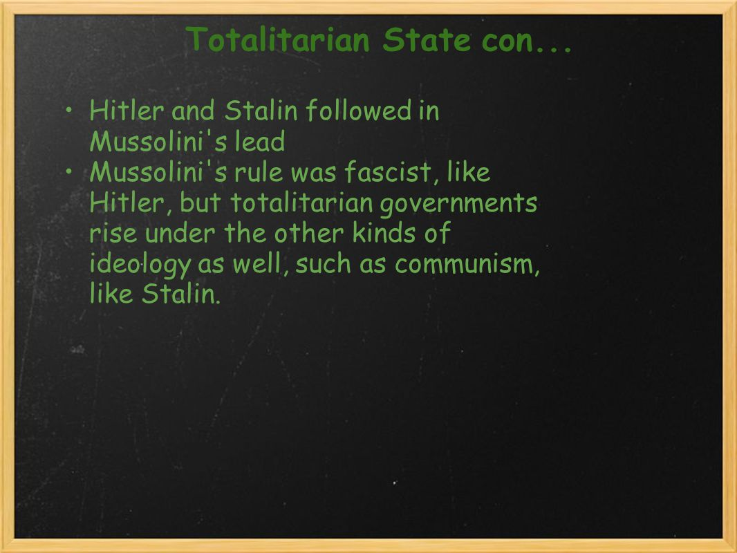 the totalitarian rule of stalin and hitler More in totalitarian governments: comparing tools and actions of totalitarian leaders (1073) introductory materials.