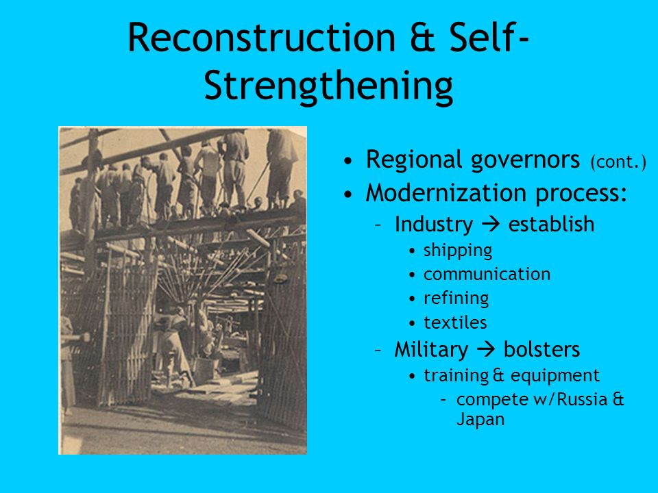 Reconstruction & Self-Strengthening