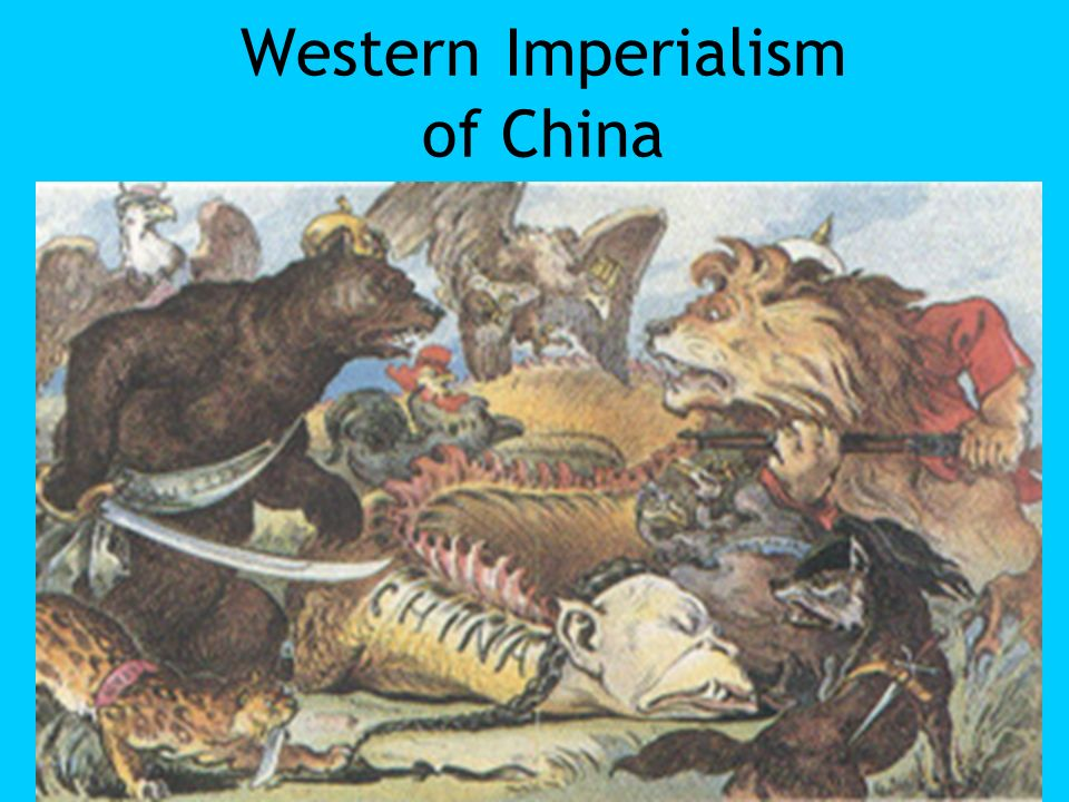 Western Imperialism of China