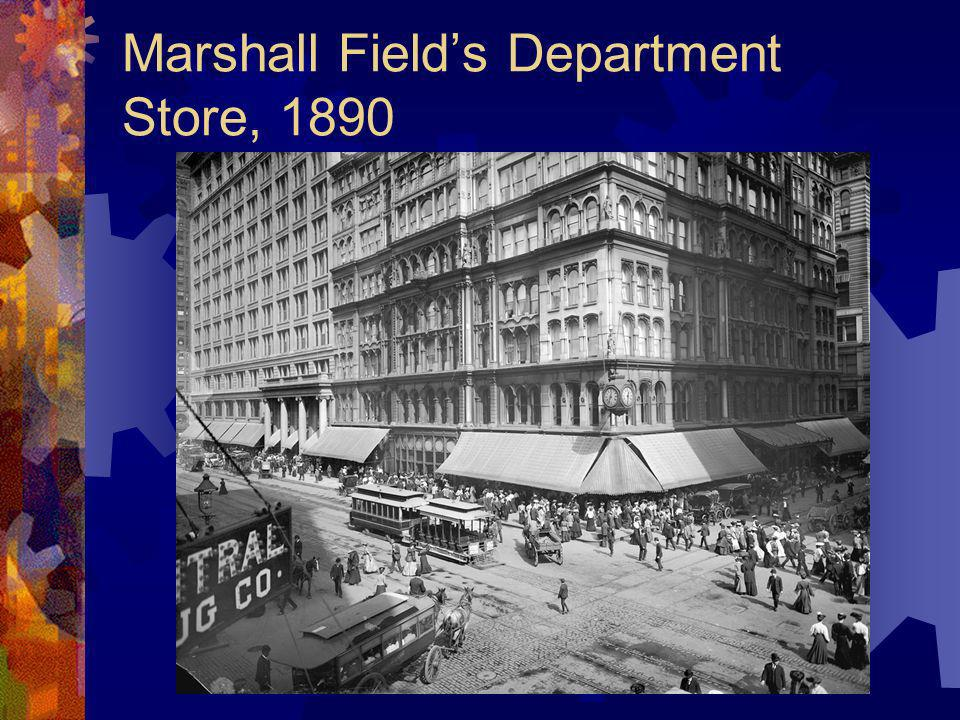 Marshall Field's Department Store, 1890