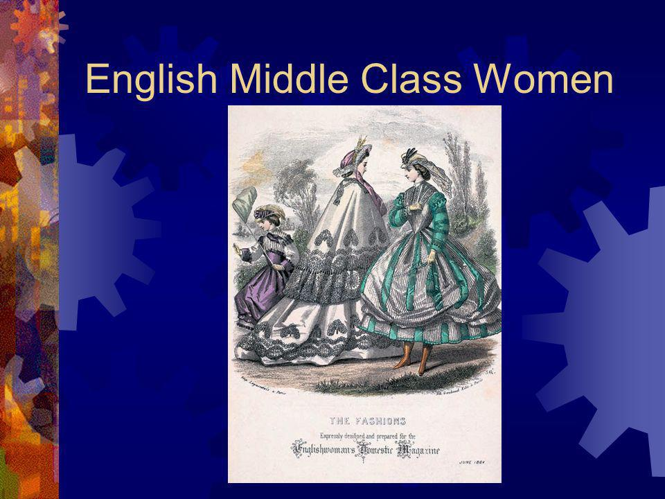 English Middle Class Women