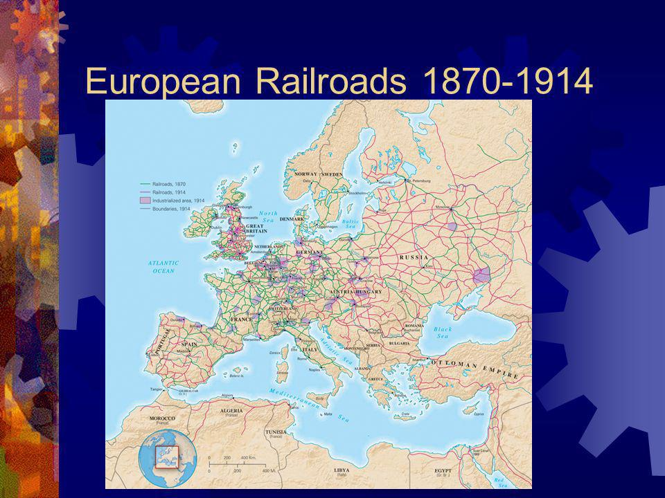 European Railroads 1870-1914