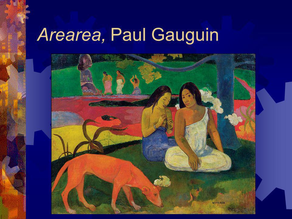 Arearea, Paul Gauguin