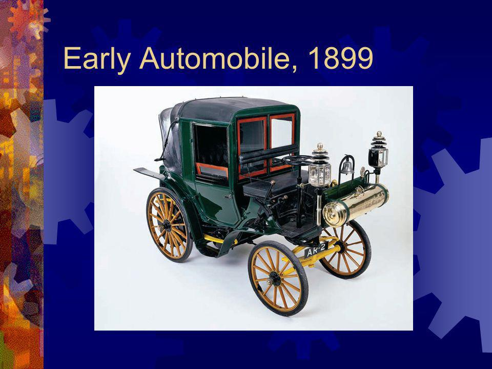 Early Automobile, 1899