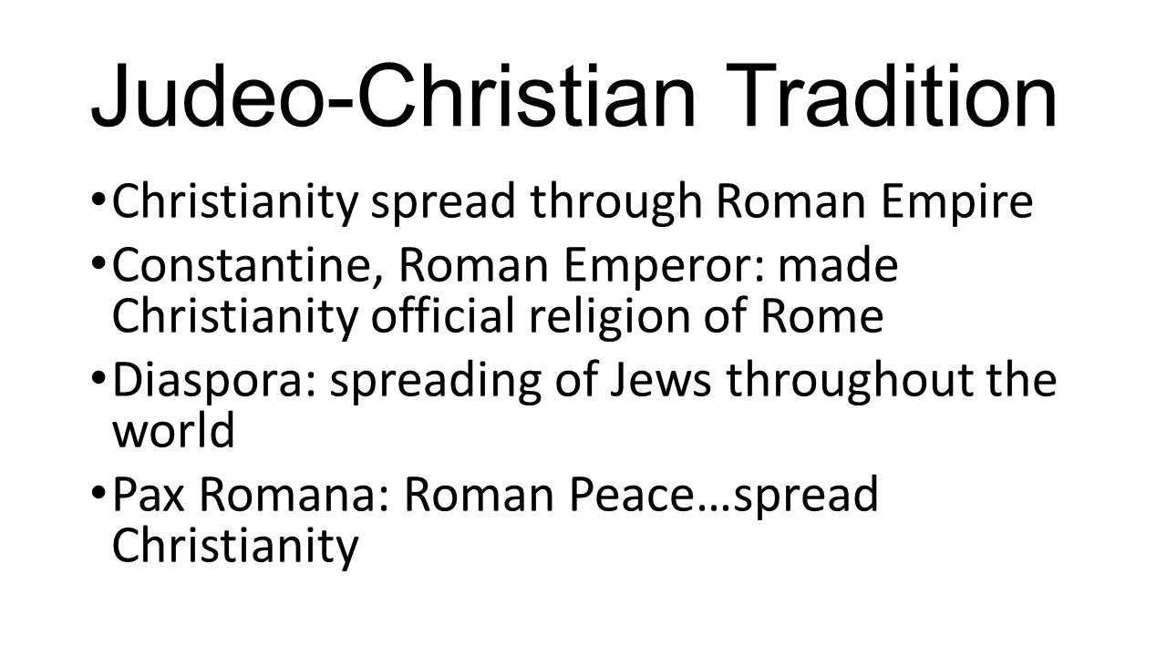 The rise of democratic ideas ppt video online download 8 judeo christian tradition biocorpaavc Images