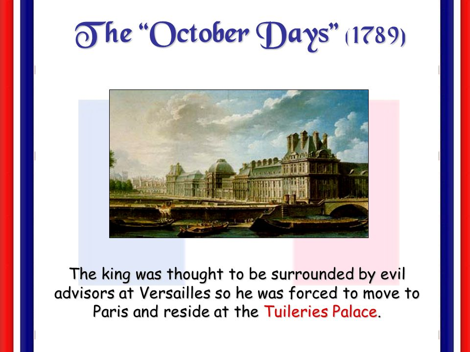 The October Days (1789)