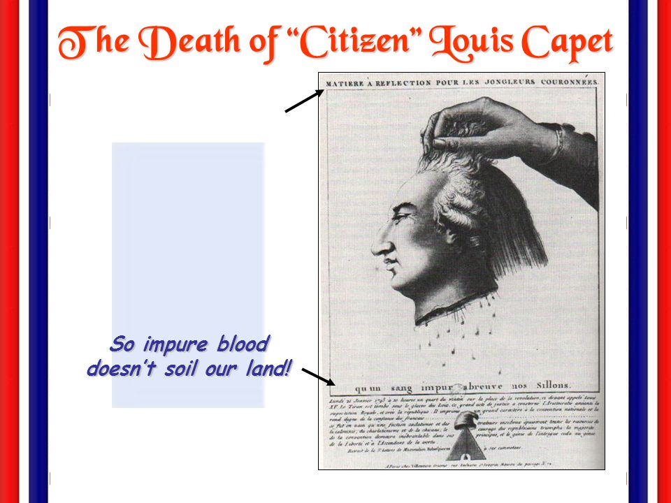 The Death of Citizen Louis Capet