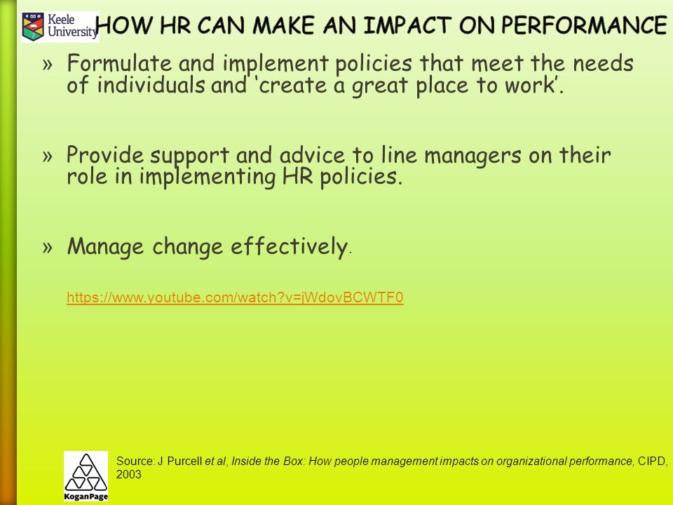how hr impacts a company performance Impact of hr practices on organizational performance in bangladesh  high performance hr practices objective is to enhance company performance with the help of its employees for achieving.