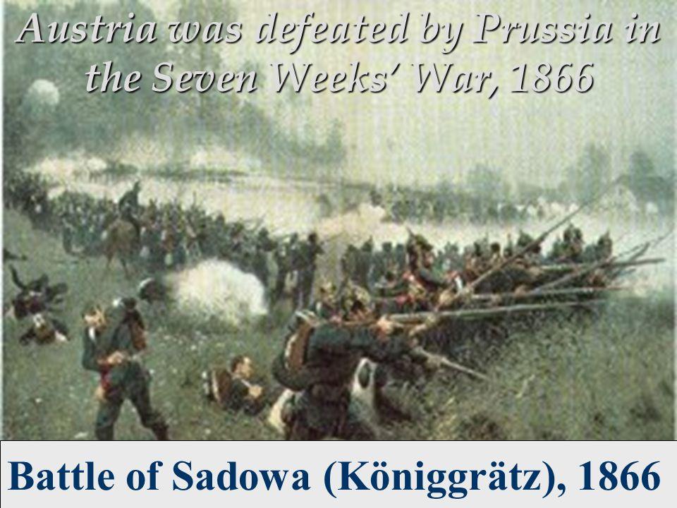 Battle of Sadowa (Königgrätz), 1866