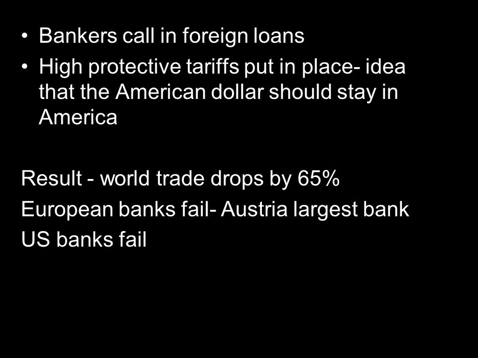 Bankers call in foreign loans