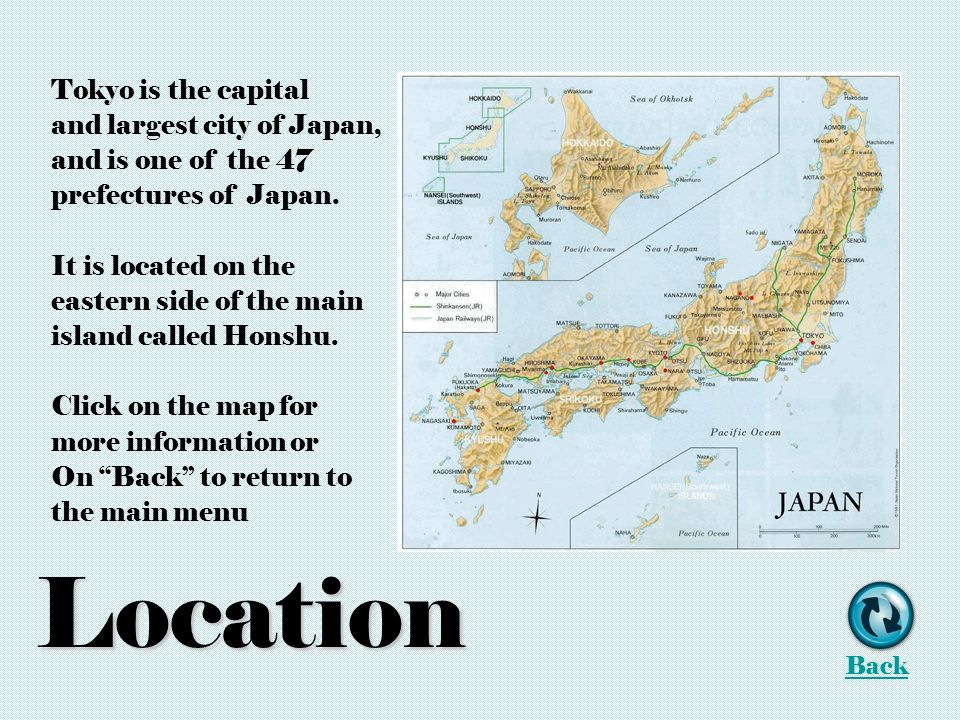 Tokyo Location Climate History Things To Do References Play Music - Japan map main cities