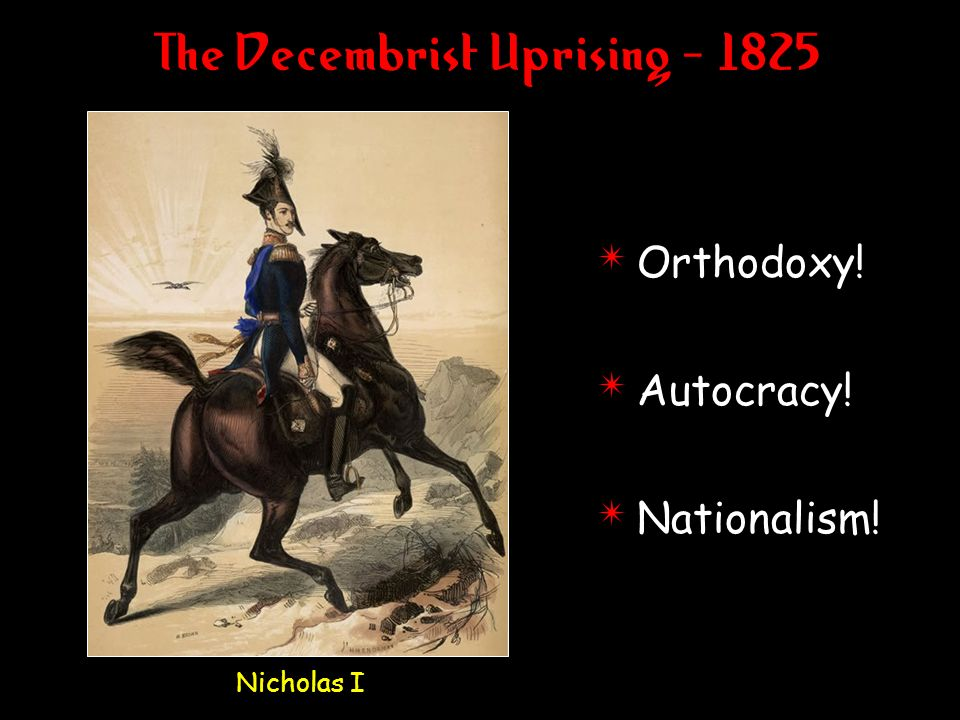 The Decembrist Uprising
