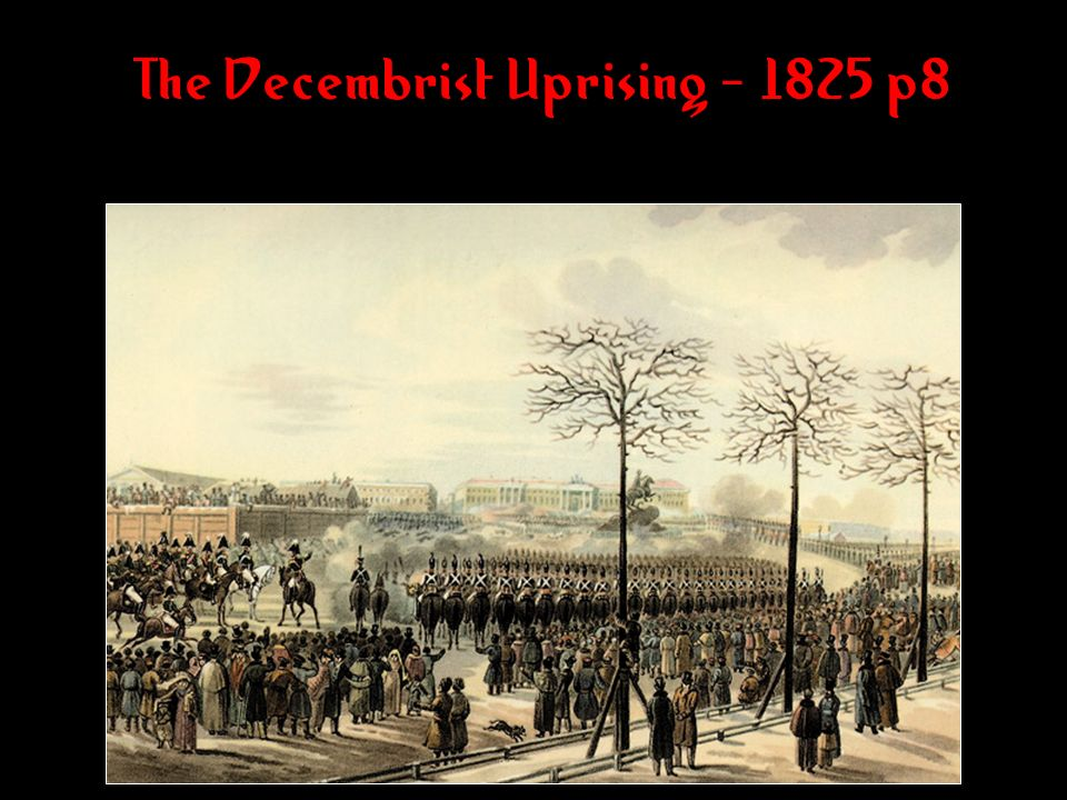 The Decembrist Uprising - 1825 p8