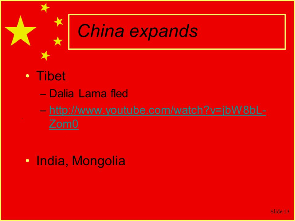 China expands Tibet India, Mongolia Dalia Lama fled
