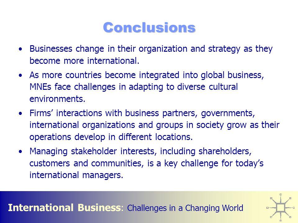 the international business environment pdf