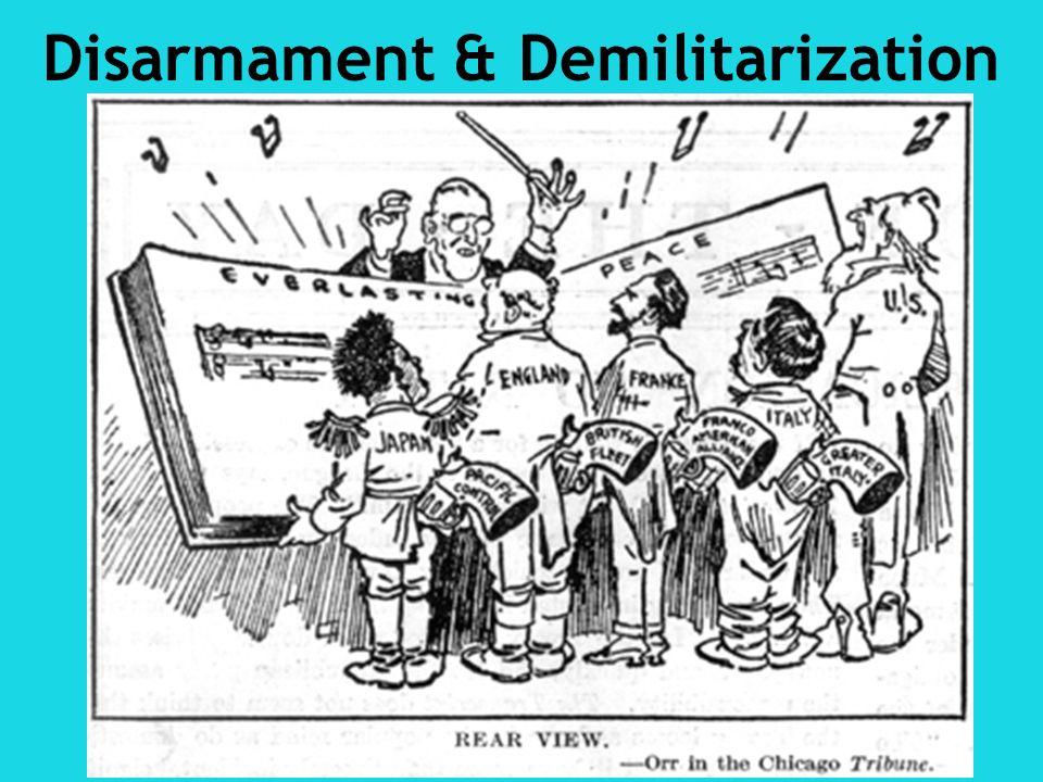 Disarmament & Demilitarization