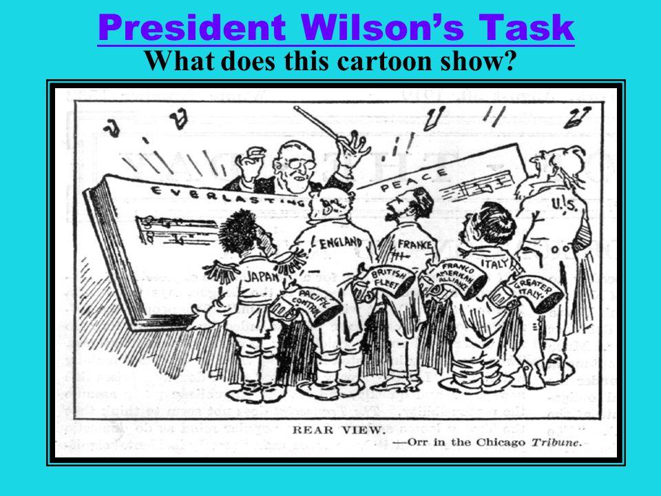 President Wilson's Task