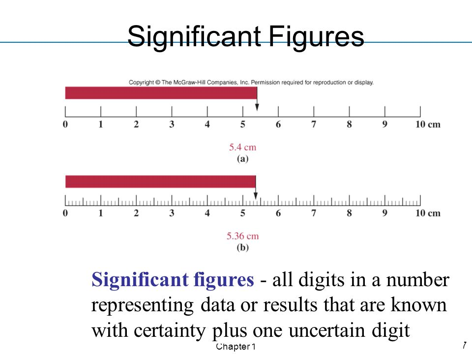 Significant Figures Significant figures - all digits in a number representing data or results that are known with certainty plus one uncertain digit.