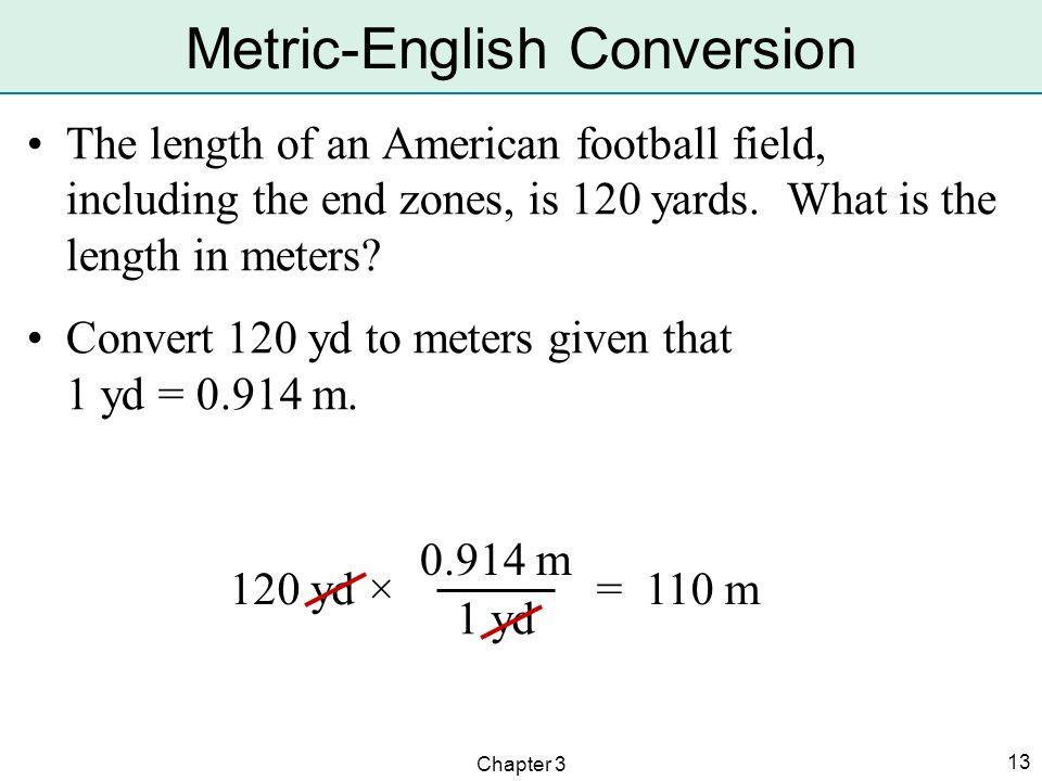 Metric-English Conversion
