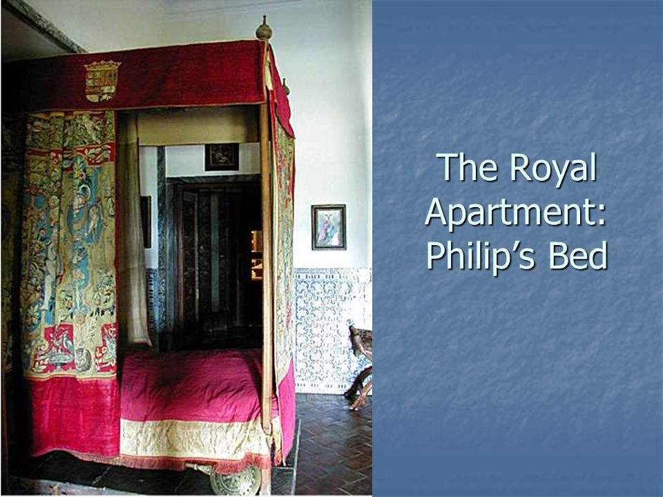 The Royal Apartment: Philip's Bed
